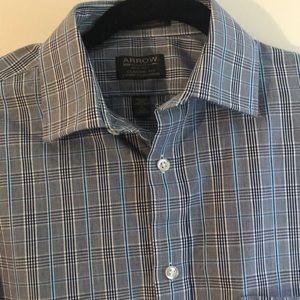 Arrow Plaid Dress Shirt